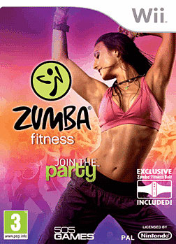 Zumba Fitness Wii Cover Art