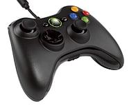 Official Xbox 360 Wired Controller - Black screen shot 1