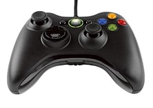 Official Xbox 360 Wired Controller - Black screen shot 2