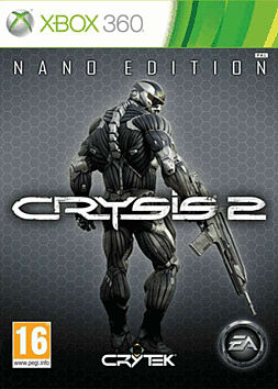 Crysis 2 Nano Edition Xbox 360 Cover Art
