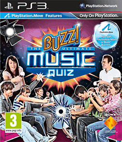 Buzz! Ultimate Music Quiz PlayStation 3 Cover Art