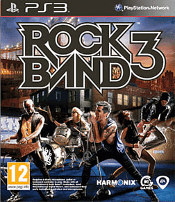 Rock Band Wireless Pro Keyboard with Rock Band 3 software PlayStation 3 Cover Art