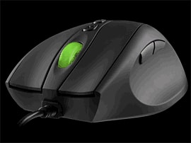 Mionix Laser Gaming Mouse Equipped with 1800dpi Laser Technology and USB Accessories