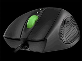 Mionix Laser Gaming Mouse Equipped with 3200dpi Laser Technology and USB Accessories 