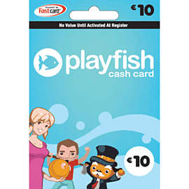 Playfish Cash Card - £10 Gifts
