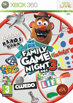 Family Game Night Vol 3 Xbox 360 Cover Art