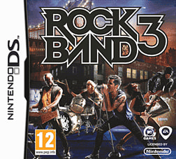 Rock Band 3 DSi and DS Lite Cover Art