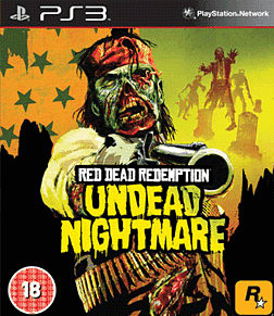 Red Dead Undead Nightmare Collection PlayStation 3 Cover Art