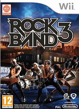 Rock Band 3 Wii Cover Art