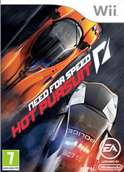 Need for Speed: Hot Pursuit Wii Cover Art