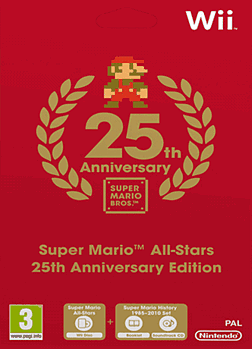 Super Mario All Stars Wii Cover Art