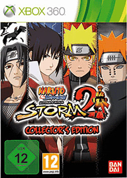 Naruto Shippuden: Ultimate Ninja Storm 2 Collectors Edition Xbox 360 Cover Art