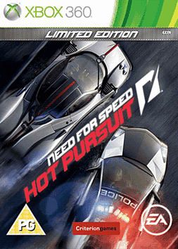 Need for Speed: Hot Pursuit Limited Edition Xbox 360 Cover Art