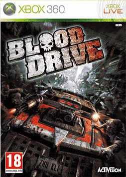 Blood Drive Xbox 360 Cover Art