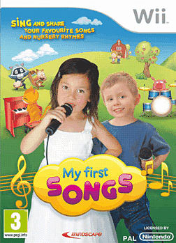 My First Songs (with Microphone) Wii Cover Art