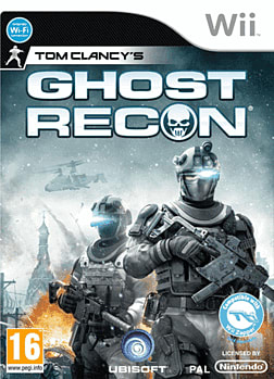Tom Clancy's Ghost Recon Wii Cover Art