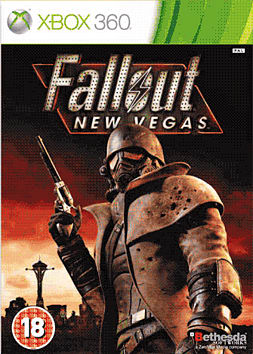 Fallout: New Vegas Xbox 360 Cover Art