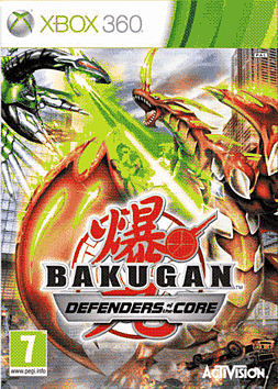 Bakugan 2 Xbox 360 Cover Art