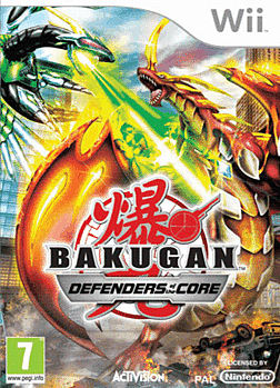 Bakugan 2 Wii Cover Art