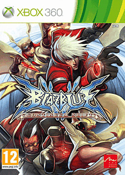 BlazBlue: Continuum Shift Xbox 360 Cover Art