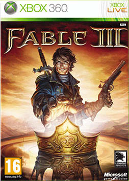 Fable III Xbox 360 Cover Art