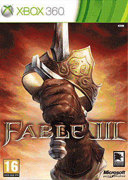 Fable III Limited Collector's Edition Xbox 360 Cover Art
