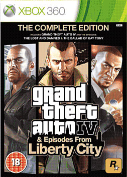 GTA IV Complete Xbox 360