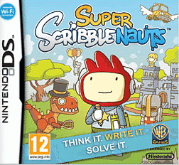Super Scribblenauts DSi and DS Lite Cover Art