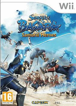 Sengoku Basara: Samurai Heroes Wii Cover Art