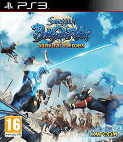 Sengoku Basara: Samurai Heroes PlayStation 3 Cover Art
