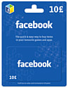Facebook Giftcard - £10 Accessories