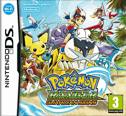 Pokemon Ranger: Guardian Signs DSi and DS Lite Cover Art