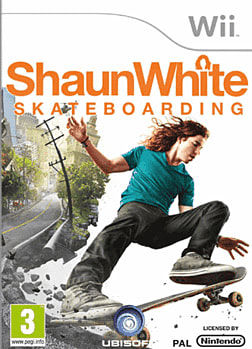 Shaun White Skateboarding Wii Cover Art