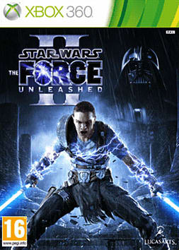 Star Wars: The Force Unleashed 2 Xbox 360 Cover Art