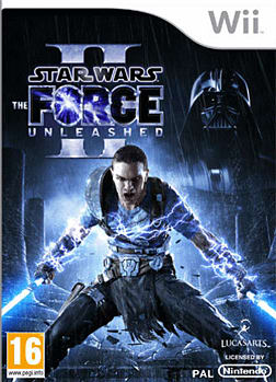 Star Wars: The Force Unleashed 2 Wii Cover Art