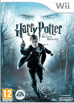 Harry Potter & The Deathly Hallows - Part 1 Wii Cover Art