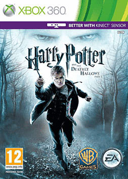 Harry Potter & The Deathly Hallows - Part 1 Xbox 360 Cover Art