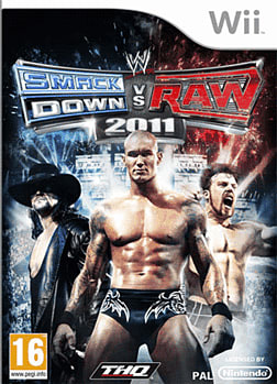 WWE Smackdown vs Raw 2011 Wii Cover Art