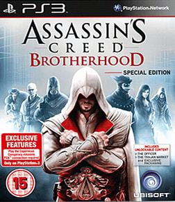 Assassin's Creed: Brotherhood Special Edition PlayStation 3 Cover Art