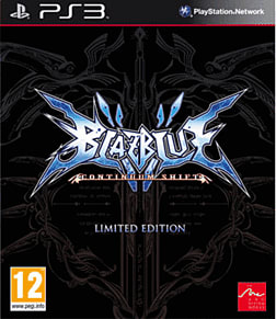 BlazBlue: Continuum Shift Limited Edition PlayStation 3 Cover Art