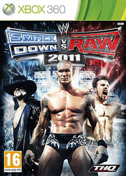 WWE Smackdown vs Raw 2011 Xbox 360 Cover Art