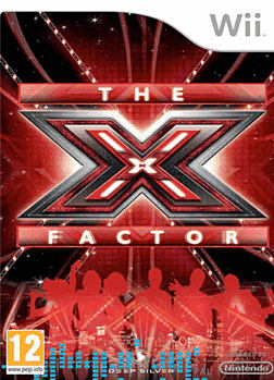 X-Factor (Single Mic Pack) Wii Cover Art
