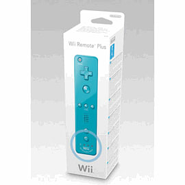 Nintendo Wii Remote Plus Controller - Blue Accessories