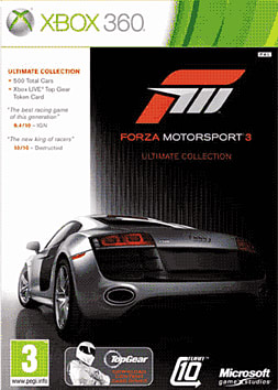 Forza Ultimate Edition Xbox 360 Cover Art