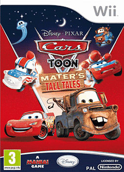 Cars Toon: Mater's Tall Tales Wii Cover Art
