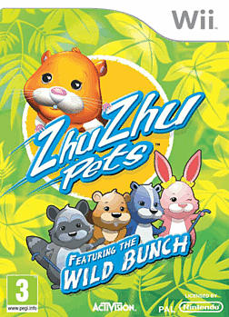 Zhu Zhu Pets Wild Bunch Wii Cover Art