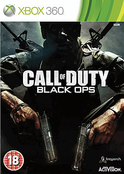 Call of Duty: Black Ops Xbox 360 Cover Art