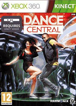 Dance Central Xbox 360 Kinect Cover Art