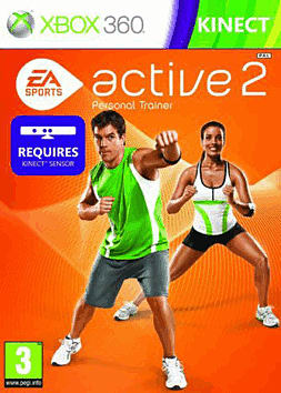 EA Sports Active 2 Xbox 360 Kinect Cover Art