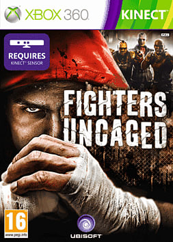 Fighters Uncaged Kinect Xbox 360 Kinect Cover Art